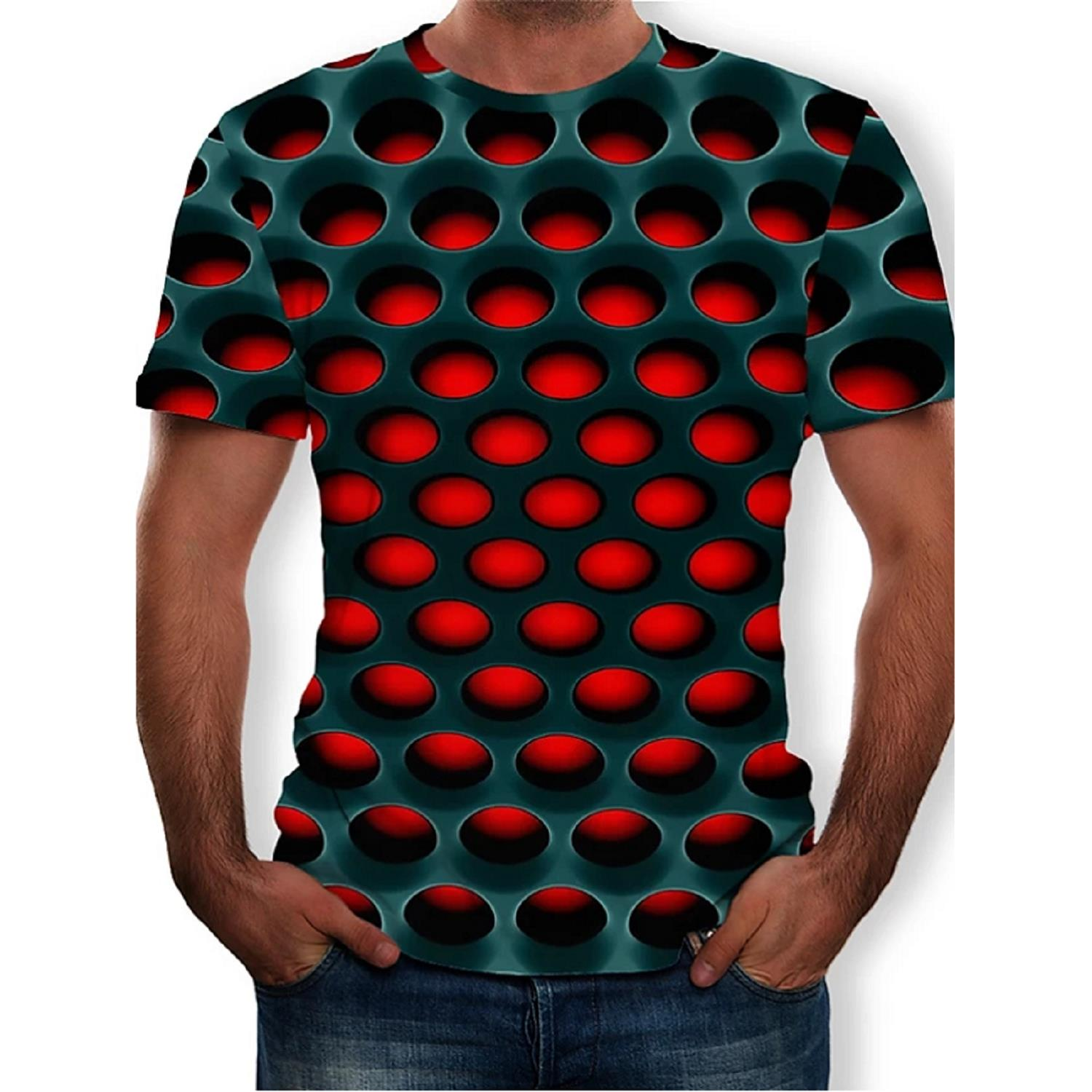 Male Tshirt Tees Tops Short-Sleeve Different Styles Summer Hot-Sale 3D 3d-Printed XS-5XL