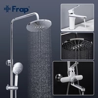 frap basin faucet and bathroom faucet chrome white taps basin sink faucet hot cold faucet torneira para banheiro f1049f2449