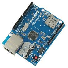 Bouclier Ethernet W5100 pour carte principale Arduino RJ45 UNO ATMega 328 1280 MEGA2560 Module de carte dextension réseau avec fente Micro SD