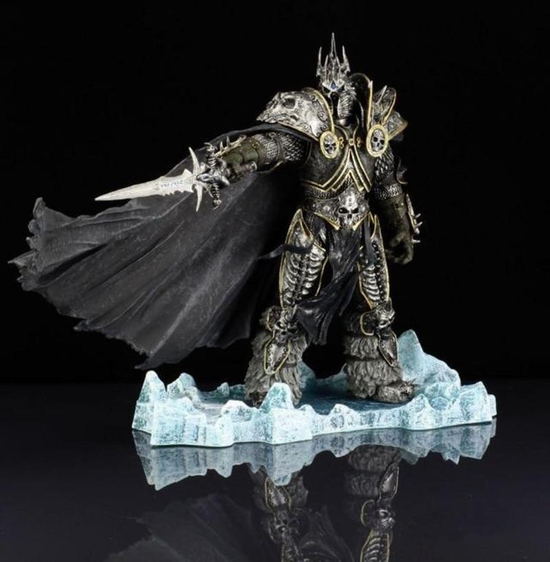 21 см World Of Warcraft The Lich King Arthas Menethil экшн фигурка метель Статуэтка персонажа Коллекционная модель игрушки