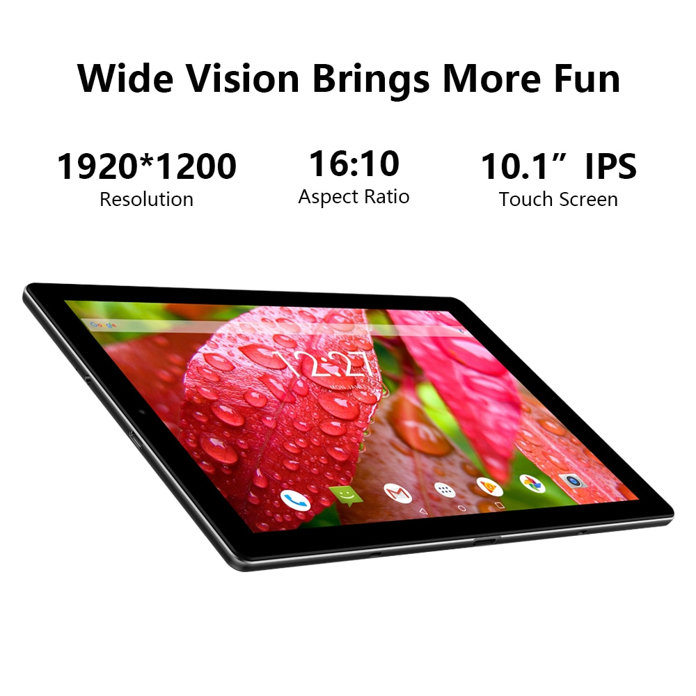 CHUWI HiPad X 10.1 inch FHD Screen  Tablet PC Android 10.0  Helio MT8788 Octa Core 4GB RAM 128G  ROM  4G LTE  Phone Call Tablets