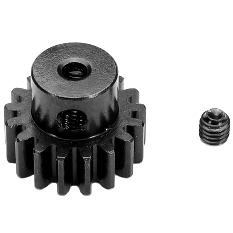 Upgrade Metal 17T Motor Gear Spare Parts Pinion Gear Parts for Wltoys A959 A979 A969 A949-24 Rc Car