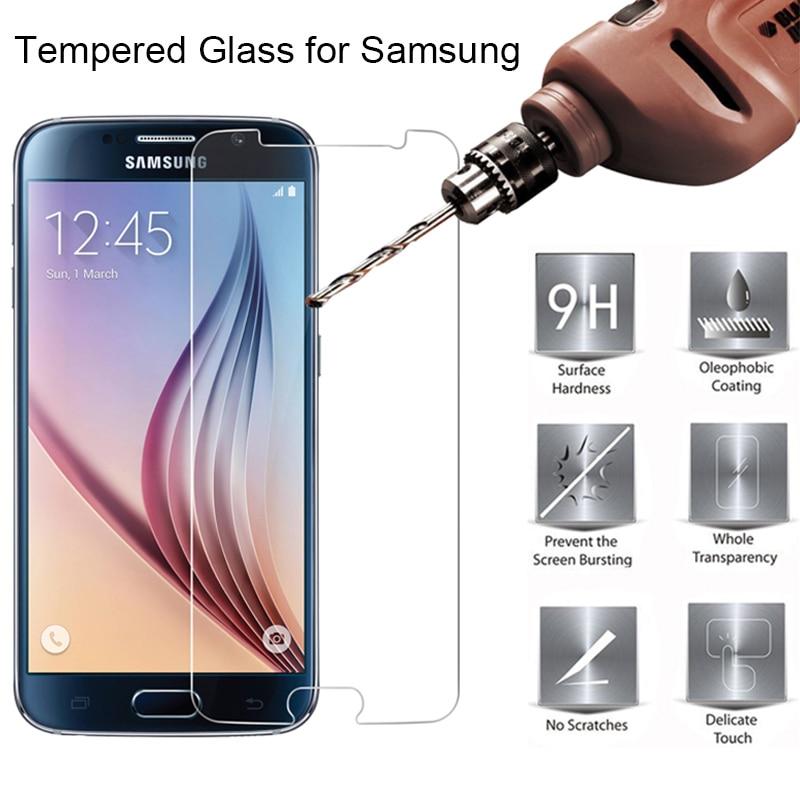 Vidrio templado para teléfono 9H para Samsung S7, vidrio Protector para Galaxy S3 S4 Mini S5 Neo, vidrio Protector de pantalla para Samsung S6