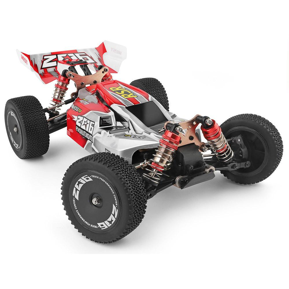 WLToys RC Car 144001 2.4G Racing RC Car 70KM/H 4WD Electric High Speed Off-Road Drift Remote Control Car truck Toy For Children