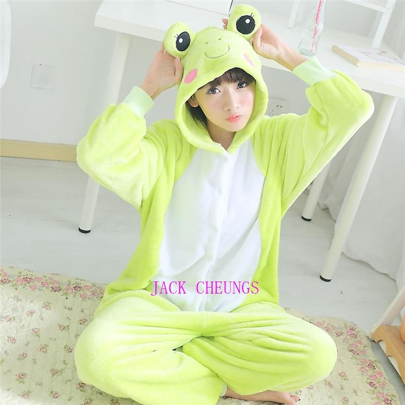 Kigurumi adulto Rana onesies pijamas animal traje pijamas Unisex personaje de dibujos animados pijamas, ropa de dormir, ropa de fiesta
