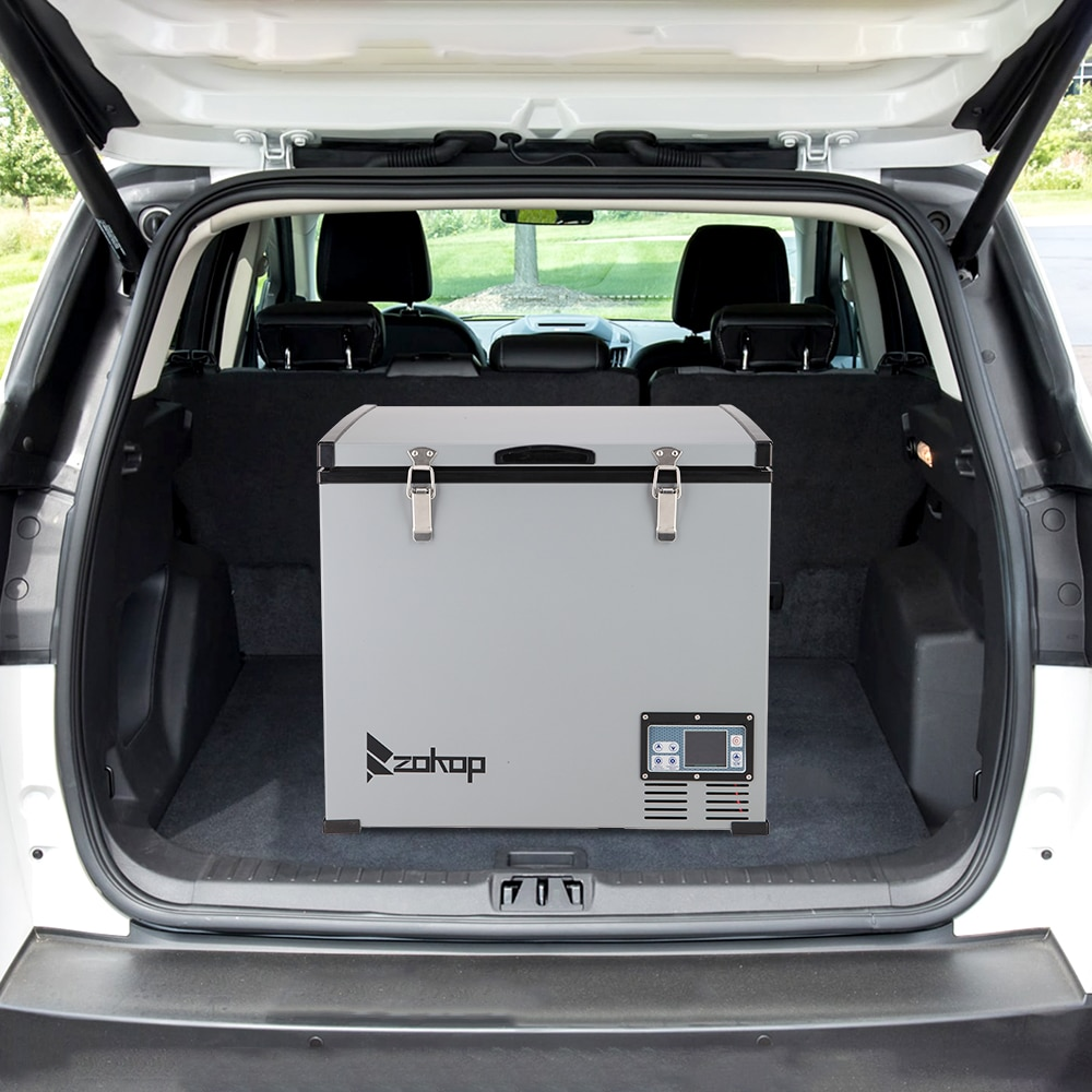 60l Car Refrigerator 12v/24v  Compressor Freezer Portable Car Fridge Cool For Home Travel Camping enlarge