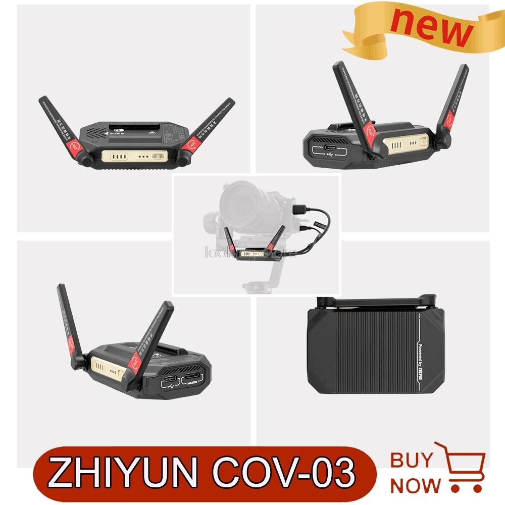 Zhiyun صورة لاسلكية جهاز ريسيفر استقبال وإرسال HD نقل تحكم عن بعد لكاميرا weebell S استقرار DSLR