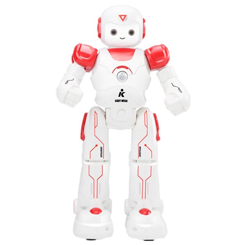 Control remoto inteligente robot de juguete interactivo de baile de Canto de programación luces LED para niños puzle inteligente juguetes de luz de voz