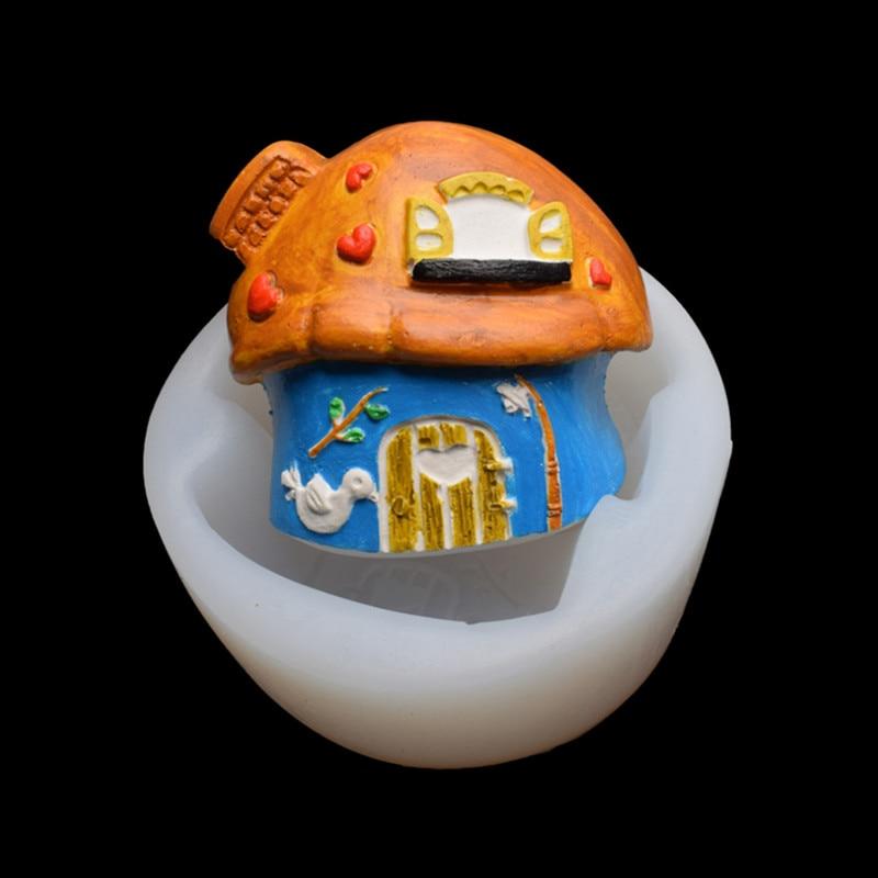 Силиконовая форма для грибов «сделай сам», форма для помадки и шоколада, форма для гончарной глины и смолы, кухонные инструменты