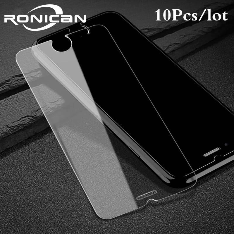 Protector de pantalla de cristal templado para móvil de película protectora de pantalla para iPhone 7 Plus 8 6 5s 5 5s 5c SE 4 4s 1