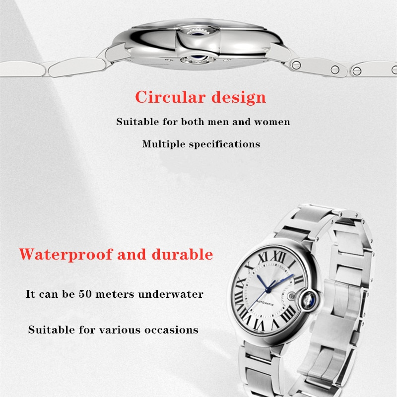 2021 Trend Men's And Women's Watches Lovers Mechanical And Quartz Qatches Luxury enlarge