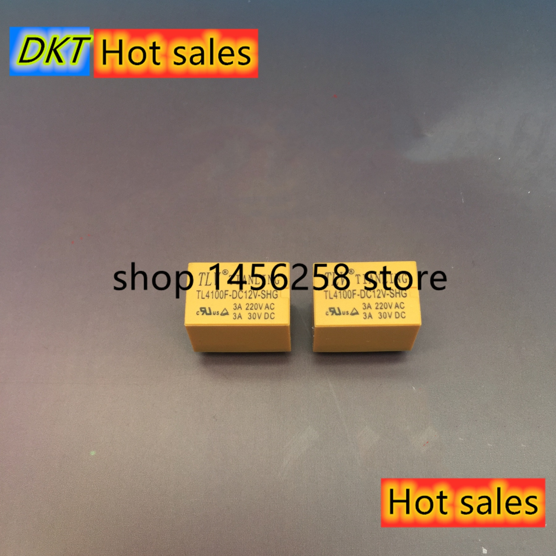 20 teile/los HK4100F DC5V/DC9V/DC12V/DC24V 5 V/9 V/12 V/24 V 3A Niedrigen Signal Relais 6P