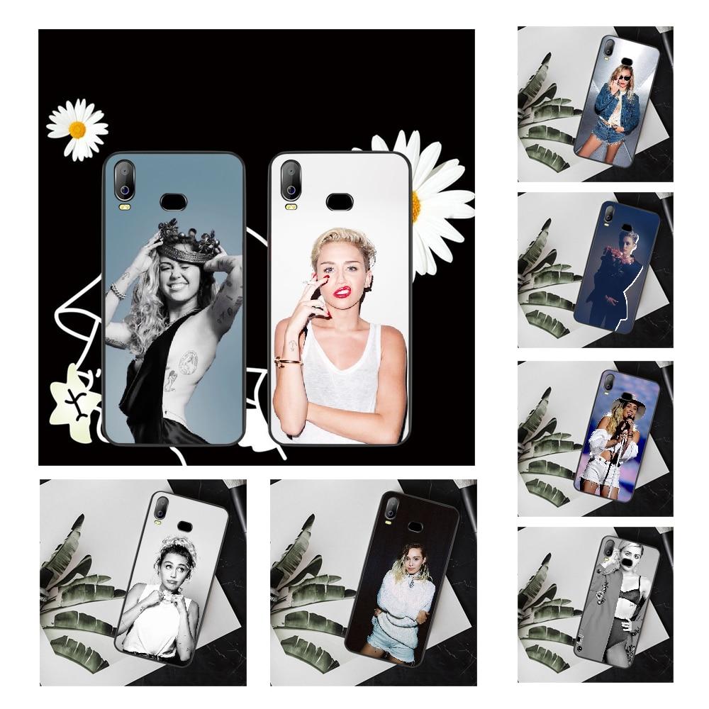 NBDRUICAI Miley Cyrus DIY Printing Phone Case cover Shell For Samsung A10 A20 A30 A40 A50 A70 A71 A51 A6 A8 2018