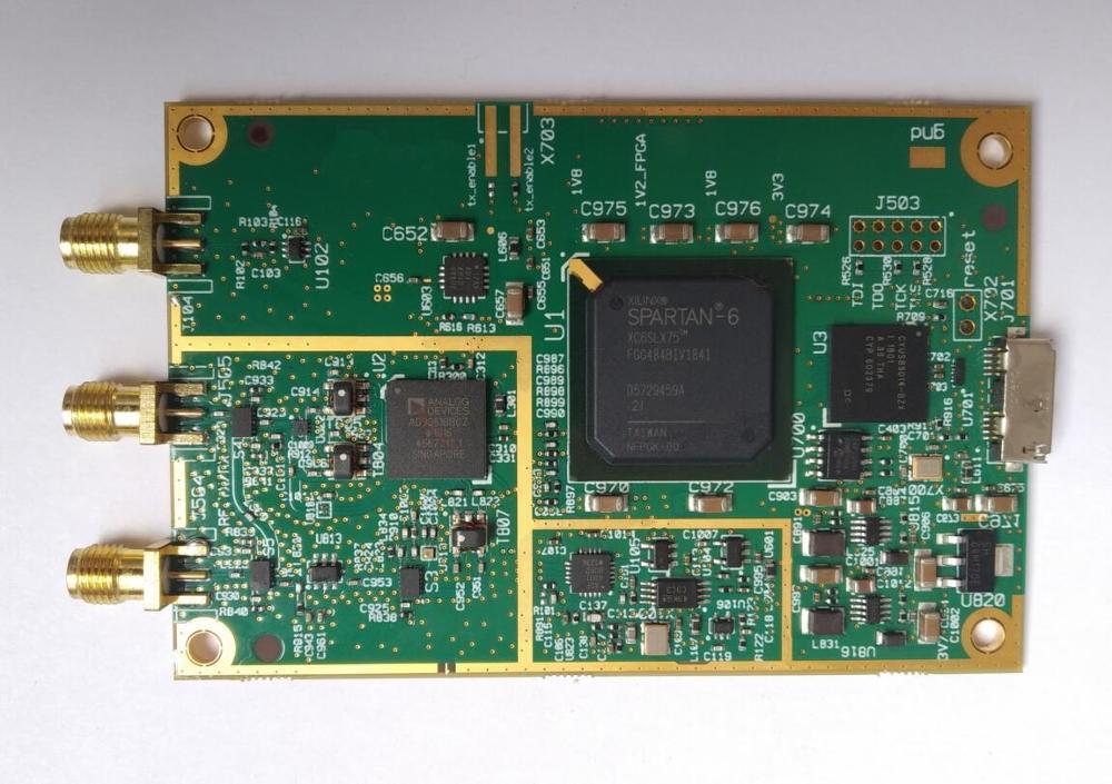AD9361 RF, 70MHz a 6GHz SDR de Radio definido por Software USB3.0 Compatible con USRP B200 mini Xilinx Spartan-6 FPGA GNU Radio