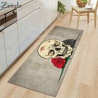 Zeegle Rectangle Kitchen Carpet Printed Entrance Floor Mat Anti Slip Door Mat Living Room Home Decor Rug Soft Modern Floor Mat