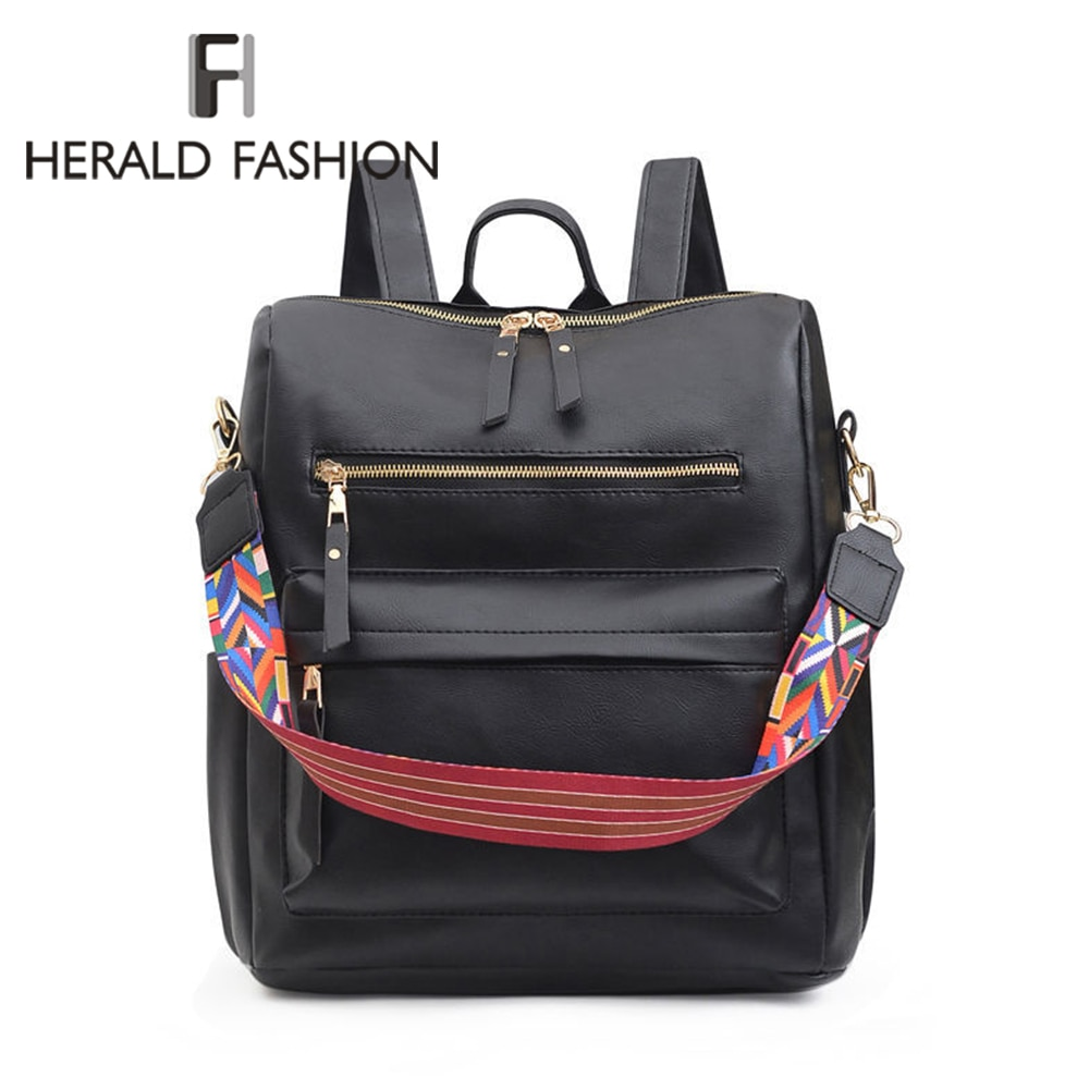 Vintage Women Backpack 2021 New Fashion Leisure Bag Fashion Shoulder Pack Backpack Women's Daypack Rucksack for Female Ladies