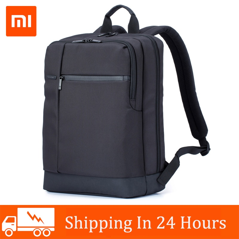 Xiaomi Travel Business Backpack with 3 Pockets Large Zippered Compartments Backpack Polyester 1260D