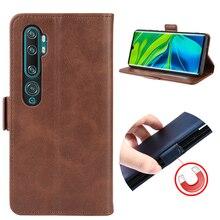 Étui à rabat en cuir pour Xiao mi mi Note 10 Pro étui à rabat étui de protection pour Xiao mi Note 10 GG