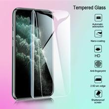 Закаленное стекло для iPhone 7 11 6 6S 8 Plus SE 2020, Защитное стекло для iPhone 11 Pro 12 Mini X XR XS Max, Защитная пленка для экрана, 3 шт.