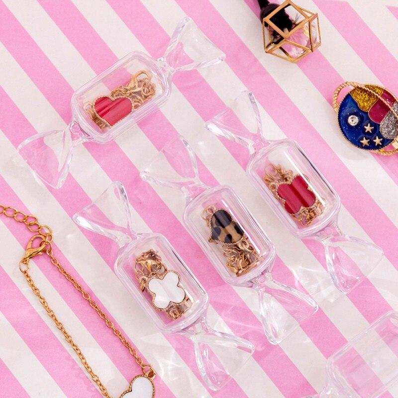 20 piezas Mini portátil dulces forma de caja de la píldora, píldora caso divisor píldora organizador caja de Medicina de envase de la píldora