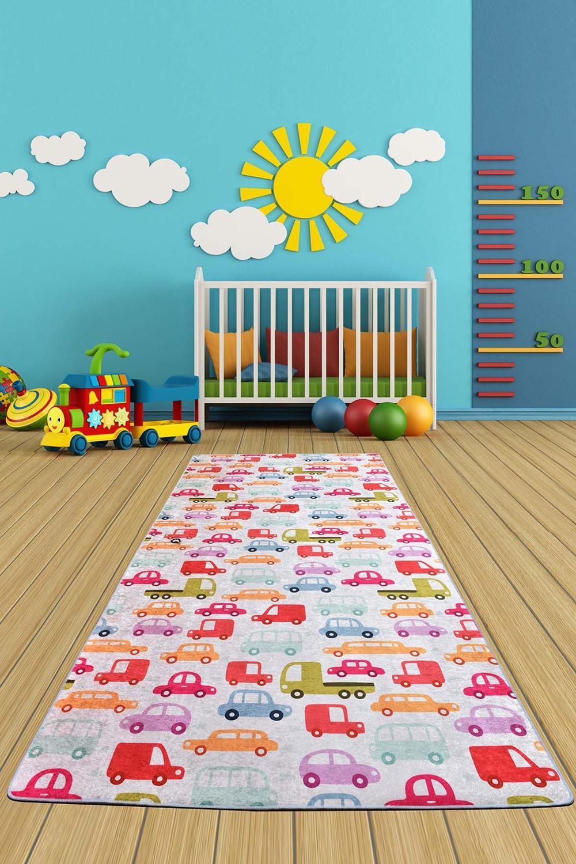 سجادة ناعمة غير قابلة للانزلاق لغرفة نوم الأطفال ، سجادة لعب للأطفال ، بجانب السرير ، غرفة المعيشة ، المنزل