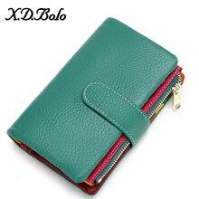 XDBOLO ผู้หญิงกระเป๋าสตางค์สั้นผู้หญิงกระเป๋าสตางค์แฟชั่นกระเป๋าสตางค์ผู้หญิงกระเป๋าสตางค์...