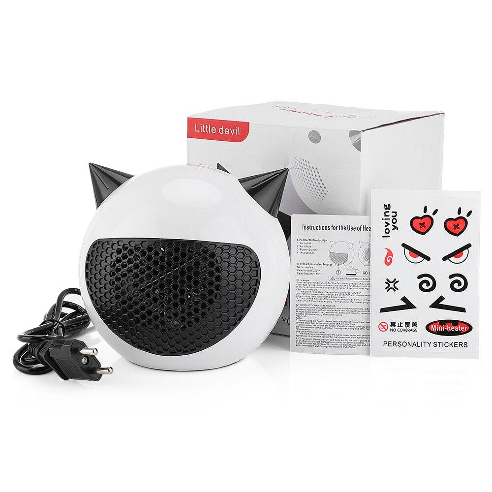 Домашний электрический обогреватель, мини-вентилятор с теплым воздухом для офисных помещений, обогреватели, удобный энергосберегающий обо...
