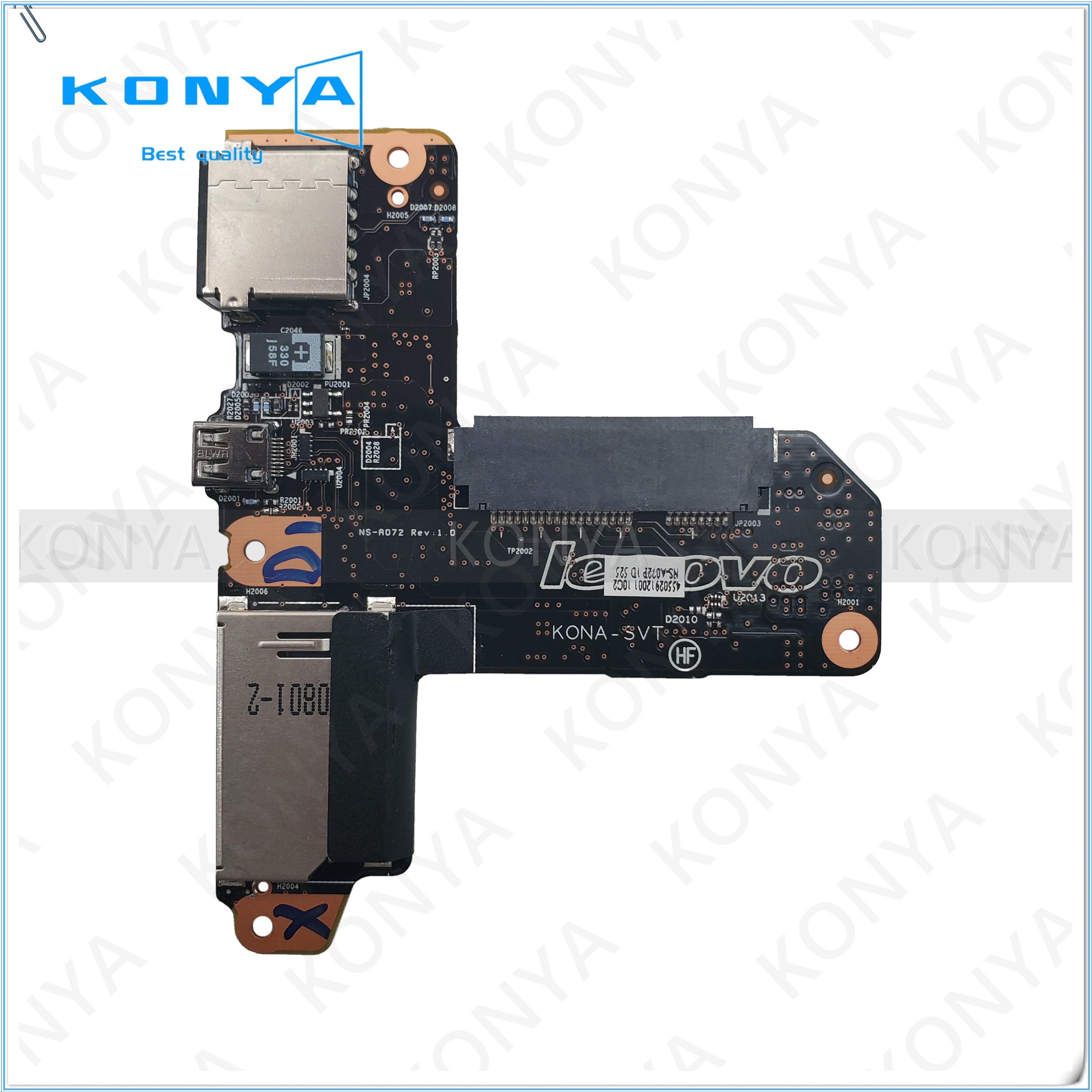 HDMI USB SD placa lectora de tarjetas para Lenovo Ideapad Yoga 13 NS-A072 90004971