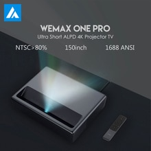 Original Wemax un PRO Proyector láser TV Android casa teatro 150 pulgadas Full HD 1080P 4K ALPD 3,0 Dolby Audio DTS HD cine HDMI