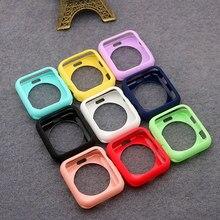 Cover per Apple Watch case 44mm 40mm iWatch 42mm 38mm accessori protezione in Silicone per Apple watch series 5 4 3 42 38 40 44mm