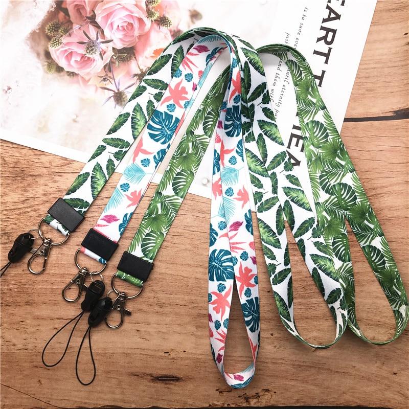 Neck Strap Lanyard for keys ID Card Gym  Mobile Phone Straps USB badge holder DIY Neck Strap Hang Rope Lariat Lanyard for iphone