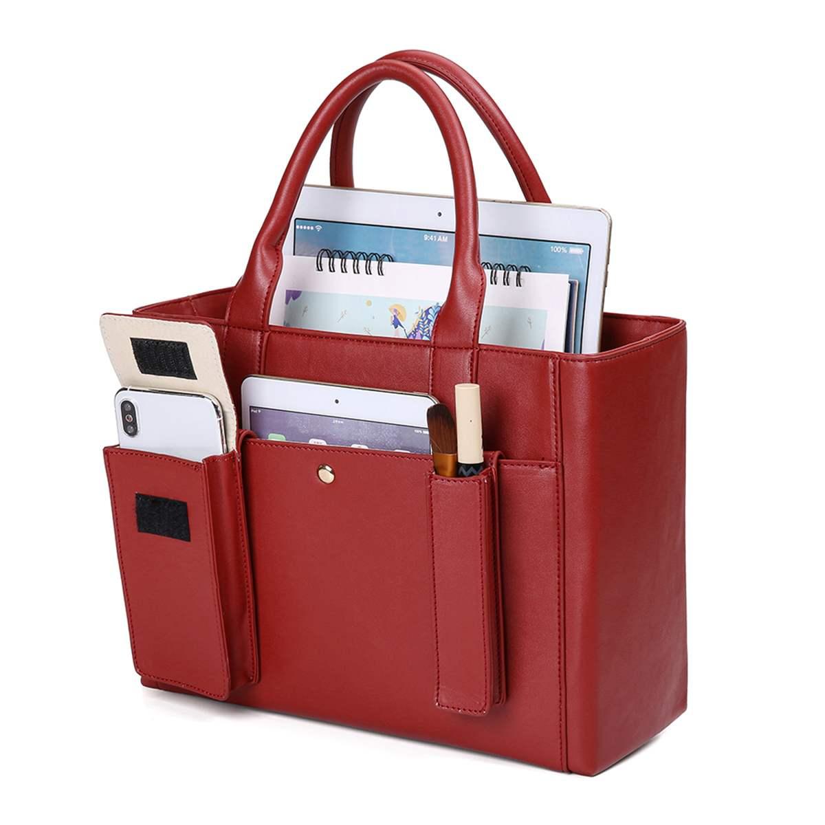 3IN1 Fashion Women Handbag Simple Women Hand Bag Female Organize Bag Leather Multifunction Shoulder Bag Lady Tote Feminine Bolsa