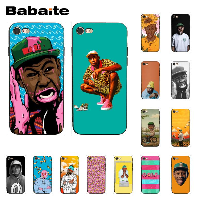 Babaite tyler the creator funda para teléfono para iphone 11 Pro 11Pro Max 5 5Sx 6 6 7 7plus 8 8Plus X XS X MAX XR