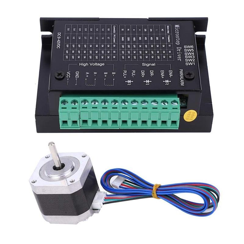 42HD4027-01-A ، السائر المحركات ، 1.8 درجة شبه التلقائي ل 3D الطابعات 2-المرحلة المحرك