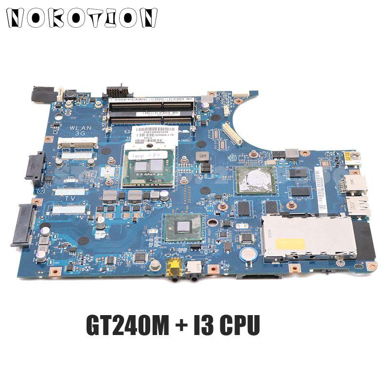 NOKOTION لينوفو IdeaPad Y550P اللوحة المحمول NIWBA LA-5371P شحن I3 CPU GT240M الرسومات اختبار كامل