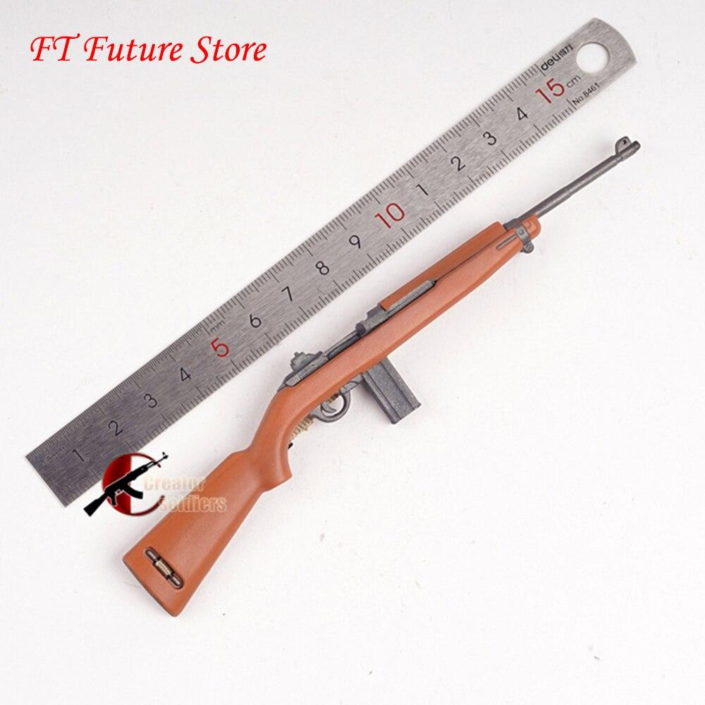 Коллекция На складе 1/6 весы солдат аксессуары WWII США армии M1 карабин пистолет Модель винтовки Пластик игрушечное оружие для 12 рисунок