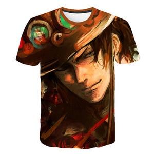 Anime cartoon Men's t-shirt shortsleeved creative tshirts streetwear men round neck top 3d printed t shirts man oversize T-shirt