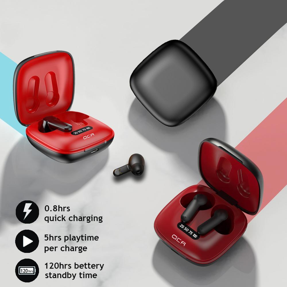 XG31 TWS 5.0 Bluetooth Earphone Wireless Headphones HD in-Ear Deep Bass Earbuds True Wireless Stereo Headset Sport Earphones enlarge
