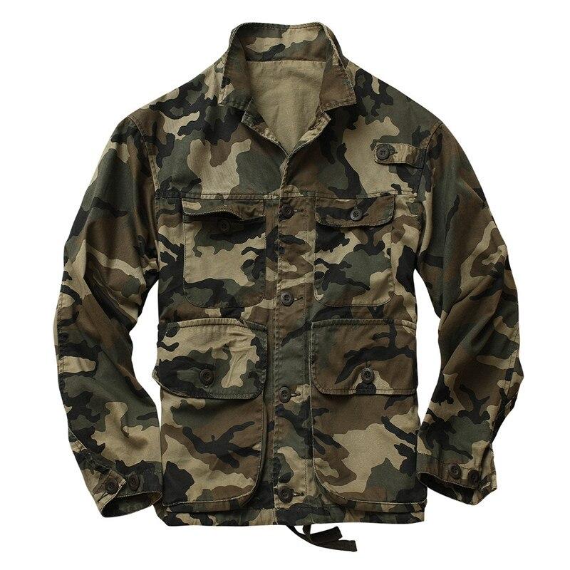 Мужская камуфляжная куртка с карманами MORUANCLE, военная тактическая куртка с карманами, верхняя одежда для мужчин