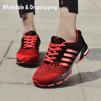 Женские легкие спортивные кроссовки для ходьбы и бега, дышащие спортивные кроссовки для бега, размер 35-47