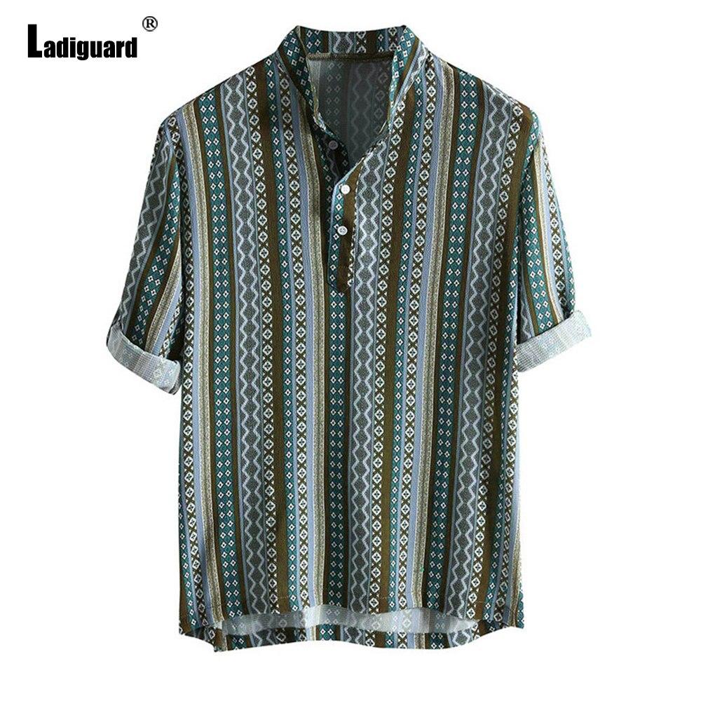 Женская блузка в полоску, в стиле ретро блузка в полоску