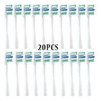 wholesale 20 50pcsset replacement brush heads for usmile y1u1u2 oral care soft vacuum brush smart electric tooth nozzle