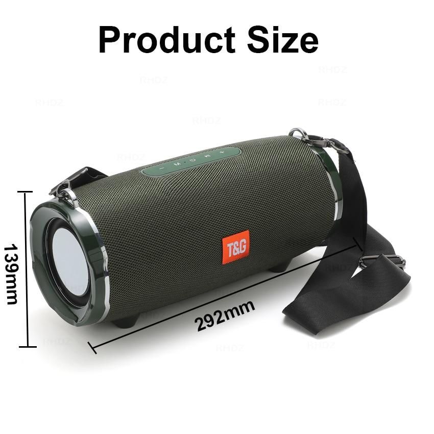 TG187 Bluetooth Speakers High Power 50W Super Bass Portable Column Wireless Soundbar Stereo Subwoofer 4400mAh boombox ForTG118 enlarge