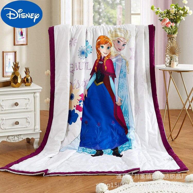 Original Disney Summer Quilt Skin-friendly Cotton Cool Quilt Cartoon Children's Summer Cool Quilt Student Air Conditioning Quilt
