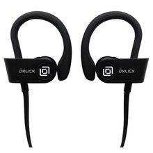 Casque avec microphone oklick bt-s-120, Bluetooth, écouteurs, noir [be216]