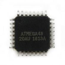 5 pçs/lote ATMEGA48-20AU ATMEGA48-20 QFP-48 ATMEGA48 Em Estoque