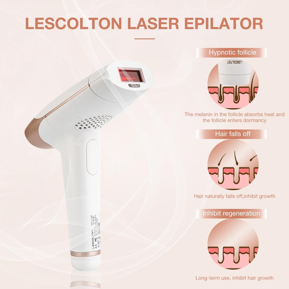 2in1 700000 pulsed IPL Laser Epilator Hair Removal LCD Display Laser Permanent Bikini Trimmer Electric depilador enlarge