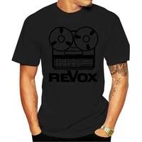 t shirt revox shirt dj drawing the mythical recorder vintage coils v o neck tees