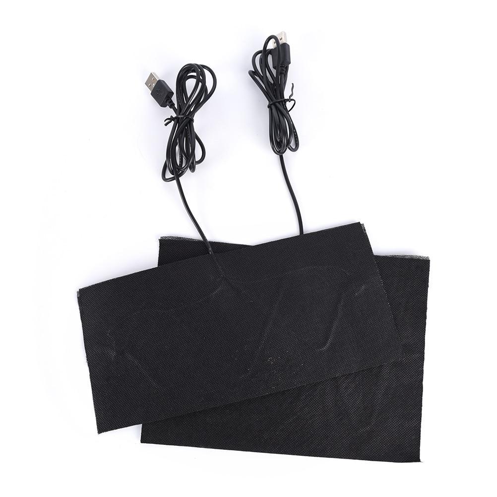Hot Sale 5V Carbon Fiber Heating Pad Hand Warmer USB Heating Film Electric Winter Infrared Fever Heat Mat