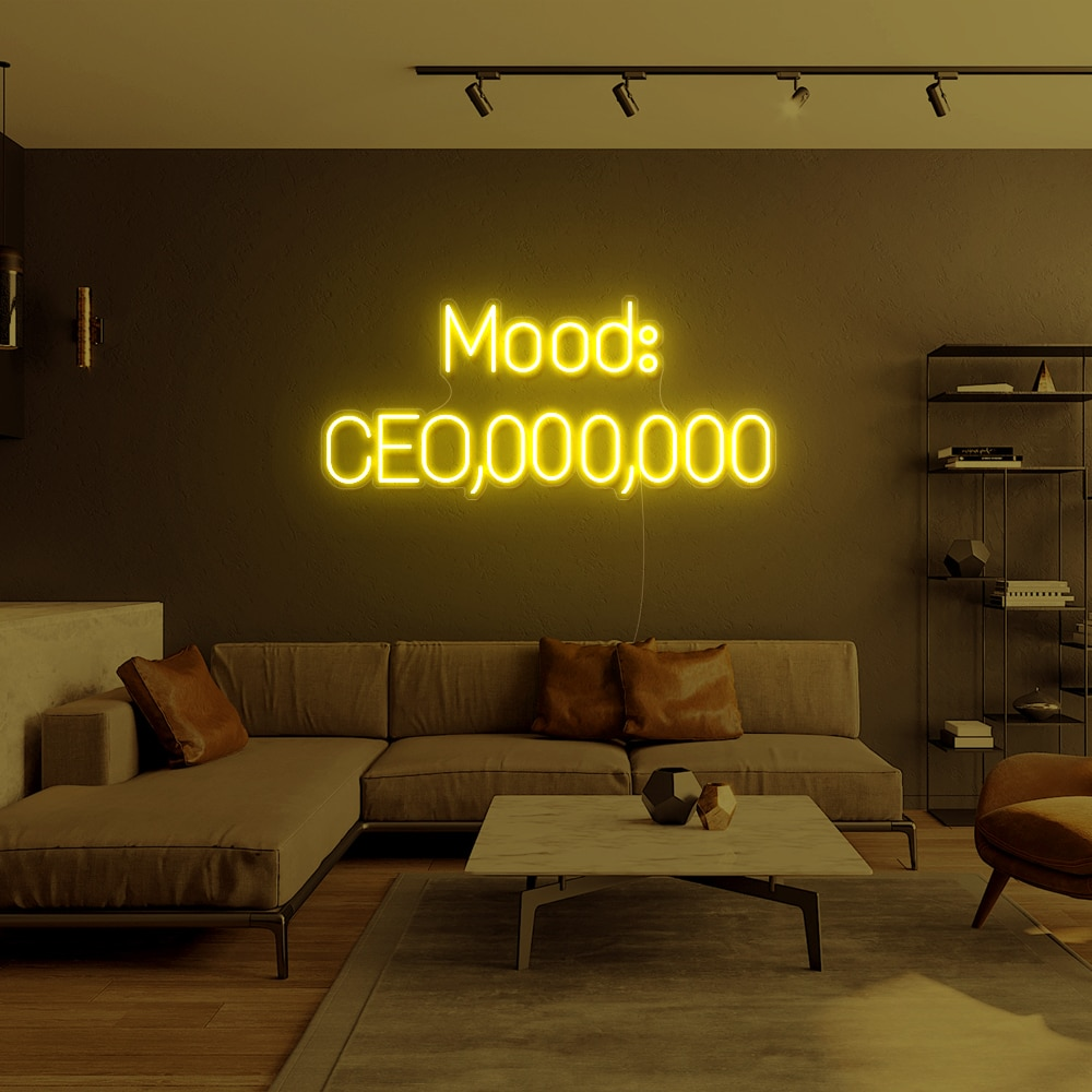 Neon Custom Sign Led Light Mood CEO Can Personalized  Custom Neon Sign Letter For Bar Shop Logo Pub Store Club Room Decoration enlarge